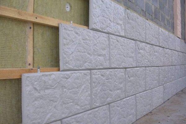 Фасадные панели из бетона