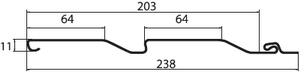 Виниловый сайдинг D4 Grand Line® AMERIKA